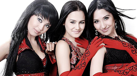 Gulnoza, Shahnoza and Shahnoza Y